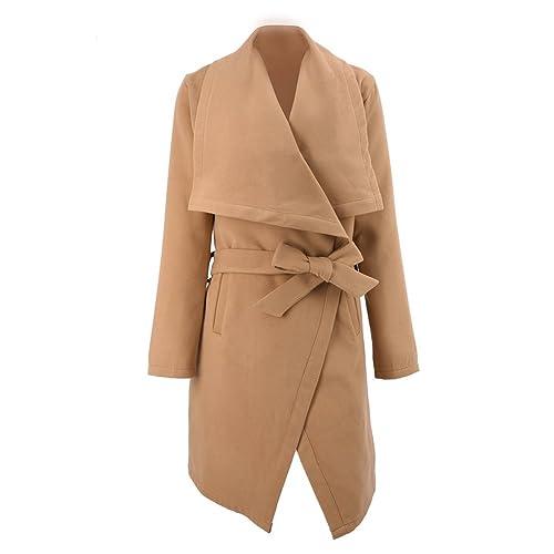 iShine chaquetas de mujer invierno abrigos de mujer invierno Mujer de manga larga Abrigo
