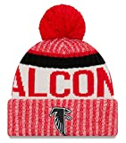Atlanta Falcons New Era 2017 NFL Sideline On Field ''Historic'' Sport Knit Hat