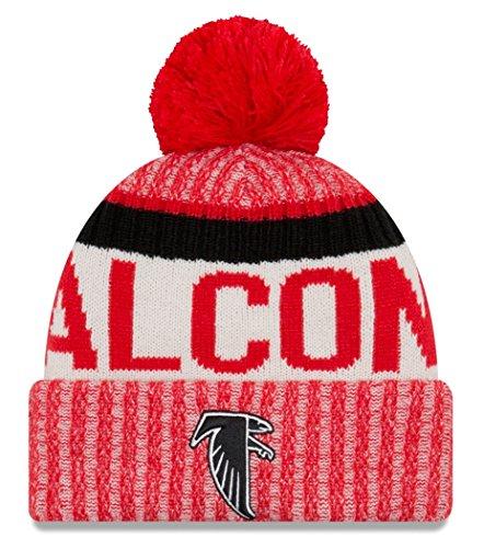 Atlanta Falcons New Era 2017 NFL Sideline On Field ''Historic'' Sport Knit Hat by New Era