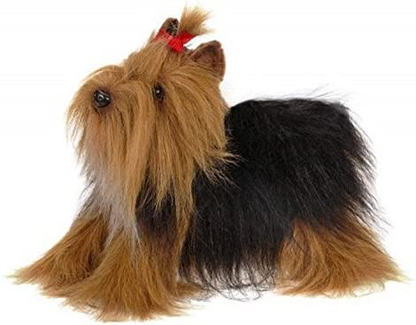 Plush Dog YORKSHIRE TERRIER Stuffed Collectable Animal Cute Christmas Gift Toy