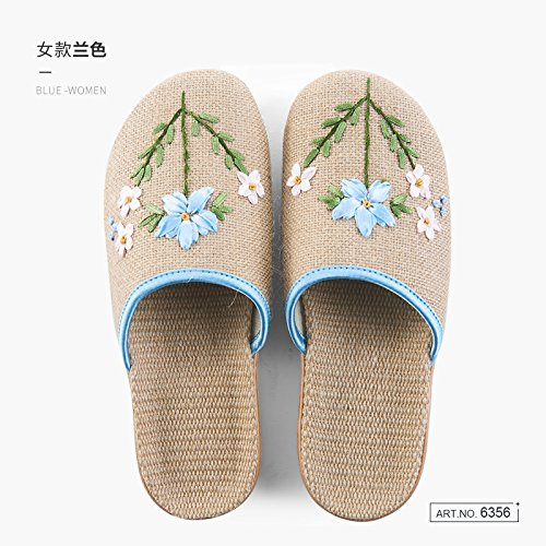 Spring Four 39 During and Summer Home Women The Autumn The 40 Baotou A fankou Rooms Home Are Slippers Spring Linen Seasons Indoor Minimalist The Slippers qBBnav