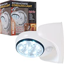 Idea Works Ideaworks 82-6676 Motion Activated Cordless Light, White