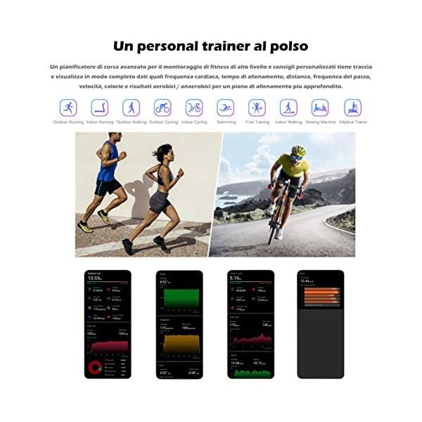 Honor Band 5 Montre connectée étanche 50 m Écran couleurs Amoled 0,95″ Podomètre et notifications de messagerie