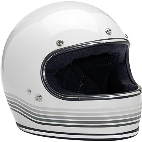 Biltwell Gringo Helmet - LE Spectrum Gloss White (XL)
