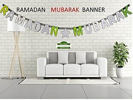 RAMADAN MUBARAK GLITTER BANNERS -Wholesale LOTS-Decoration-Islamic Gifts  123 (2)
