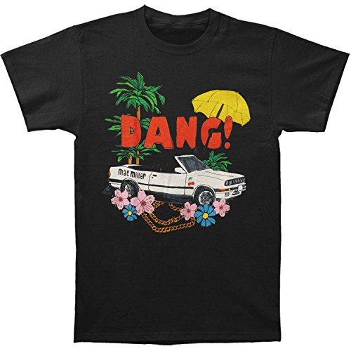 Mac Miller Men's Dang - Car Mens Soft T Slim Fit T-shirt Medium - Apparel Mac Miller