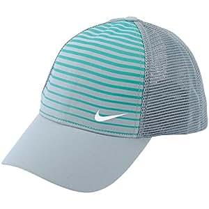 NEW Nike Legacy Printed Mesh Dove Gray/LT Retro Large/XL Hat/Cap