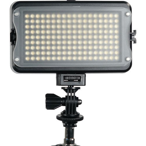 On-Camera Light for DSLR, Video Camera with Hot Shoe Adapter by GVB Gear - 162 LED Lights for Optimal Camera Lighting - Bi-Color Light Camera System with LCD Display for Canon, Nikon, Sony and More by GVB Gear