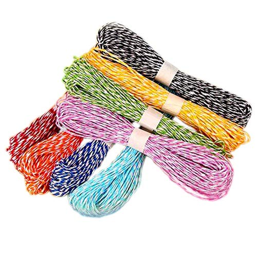 120 Yards Craft Raffia Stripes Paper String for DIY Making, Gift Packing, 12 Colors(10 Yards of Each Color) JIJIA