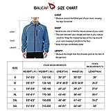 BALEAF Men's Cycling Running Jacket Waterproof Rain