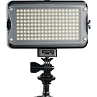 GVB Gear 162 Bicolor On-Camera Light w/LCD Display and Adapter Deals