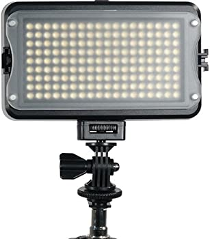 GVB Gear 162 Bicolor On-Camera LED Light