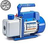 NewPosition Rotary Vane Vacuum Pump for HVAC, Air Conditioner Refrigerant,Food Packaging,Milking,Medical etc (4.0 CFM)