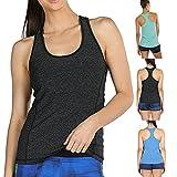 Apparel : BCDshop Women Running Workouts Yoga Sport Tank Tops Racerback Activewear Blouse Shirt