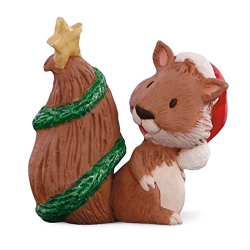 Hallmark Merry Miniatures Christmas Squirrel Tree
