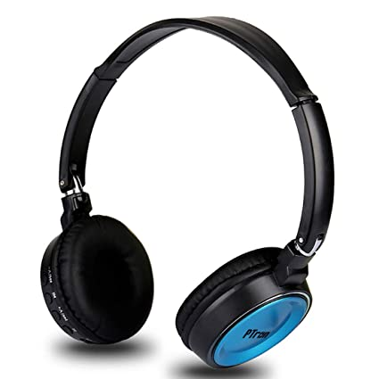 8c44e519ce7 PTron Trips On-Ear Bluetooth Headphones (Blue): Buy PTron Trips On-Ear Bluetooth  Headphones (Blue) Online at Low Price in India - Amazon.in