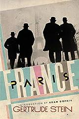 Paris France Paperback