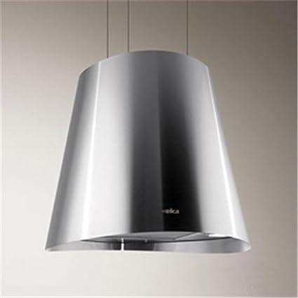 Elica Juno - Cappa da cucina sospesa in acciaio inox, Ø 50 cm ...