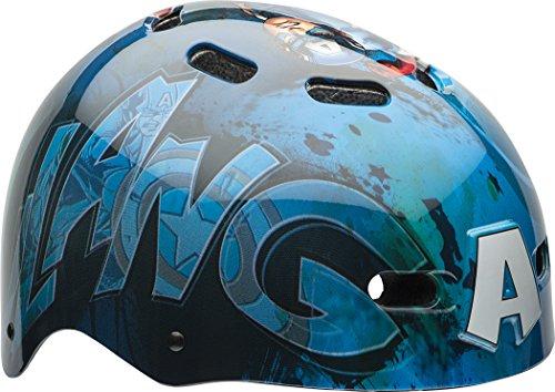 Bell Sports Kids Bicycle Helmet - Bell Child Captain America The First Avenger Multisport Helmet