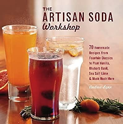 The Artisan Soda Workshop: 75 Homemade Recipes from Fountain Classics to Rhubarb Basil, Sea Salt Lime, Cold-Brew Coffee and Muc: Andrea Lynn: 9781612430676: ...