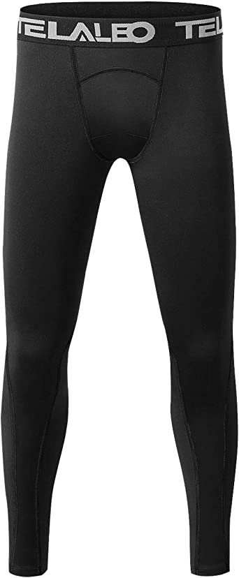 Amazon Com Telaleo Boys Youth Compression Leggings Pants Tight Athletic Base Layer For Running Hockey Basketball Clothing