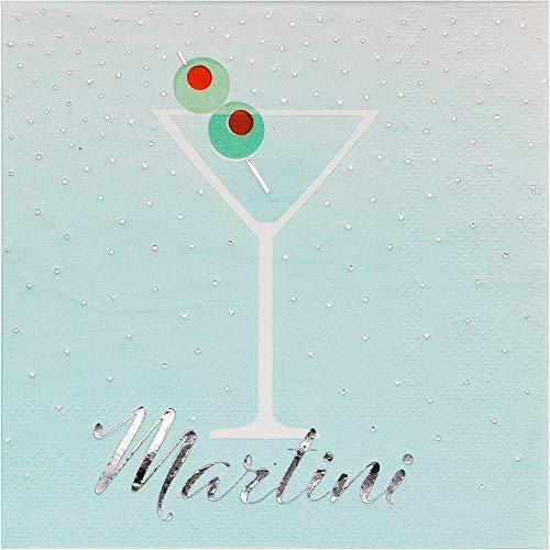Cocktail Napkins Paper Napkins Party Napkins Wedding Napkins Happy Hour Party Supplies Cocktail Party Martini 5