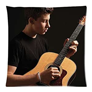 Shawn Mendes Custom Zippered Pillow Case Cover Cushion Case 18x18 Inch (Two sides)