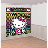 Hello Kitty 'Neon Tween' Giant Scene Setter Wall Decorating Kit (5pc)