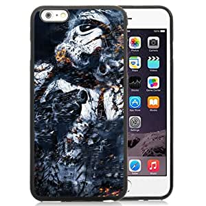Beautiful Unique Designed iPhone 6 Plus 5.5 Inch Phone Case With Star Wars Trooper_Black Phone Case