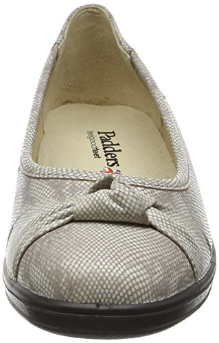 Womens Fiona PADDERS Ballet Taupe Casual Pumps aCSCwx145q