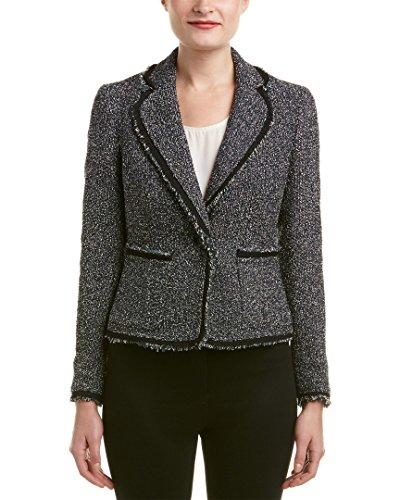 - Anne Klein Women's Boucle Tweed Jacket, Juniper Combo, 16