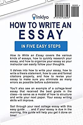 Personal Essay Examples For High School  Health Issues Essay also Argumentative Essay Thesis Statement How To Write An Essay In Five Easy Steps Scribendi Amazon  English Essay My Best Friend