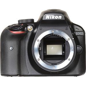 Nikon D3400 DSLR Camera (Body Only) (Certified Refurbished)