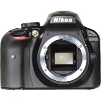 Nikon D3400 DSLR Camera (Body Only) (Certified Refurbished)