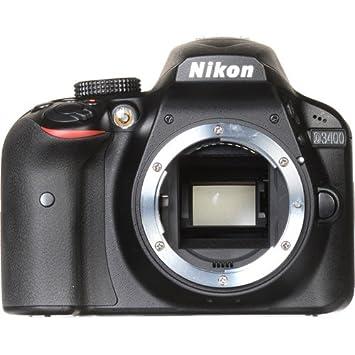 Amazon Canada: Nikon D3400 DSLR Camera (Body Only