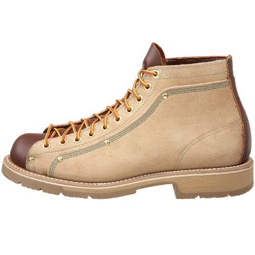 78c6145c780 Thorogood American Heritage Roofer Boot, Tan Roughout/Brown, 8 D US ...