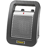 Stanley 1500 Watt Electric Handy Ceramic Utility Space Heate,Durable Construction and Portable Design with Easy Grip Handle, Features 3 Heat Settings and Adjustable Thermostat