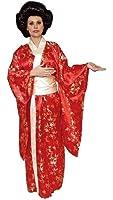 Red Kimono Costume - Plus size Adult Costume