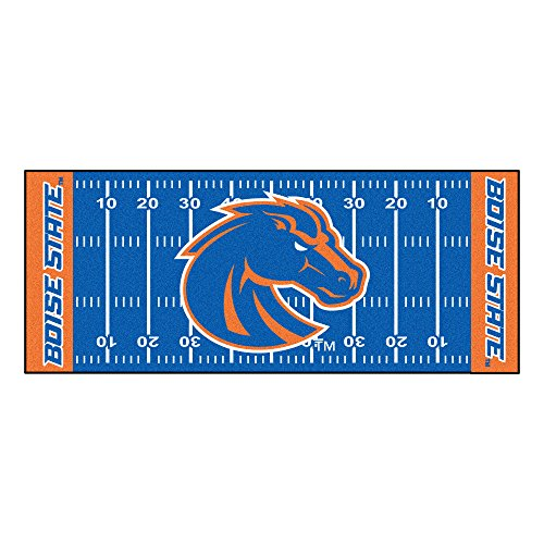 FANMATS NCAA Boise State University Broncos Nylon Face Football Field Runner