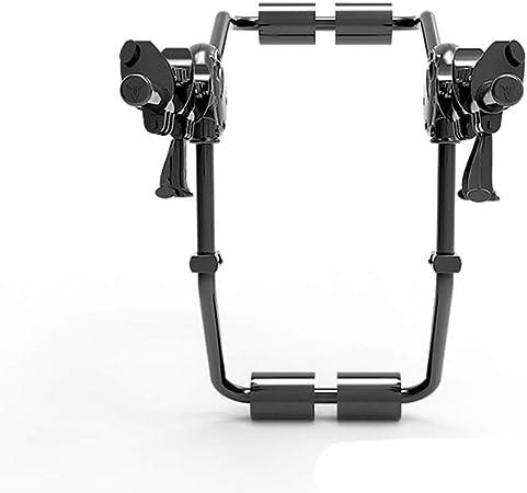 MICEROSHE Bastidores de portabicicletas Bicicleta Plegable portadores Moto vehículo Adecuado for Varios Tipos de Coches de la Familia Puede sostener 2 Bicicletas (Color : Negro, tamaño : Un tamaño): Amazon.es: Hogar