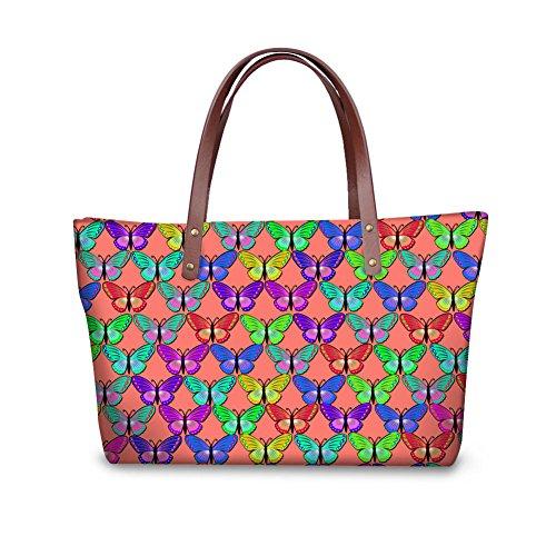 FancyPrint Top Handle Satchel W8ccc3034al Handbags Shopping Women Tote Bages rpqrw