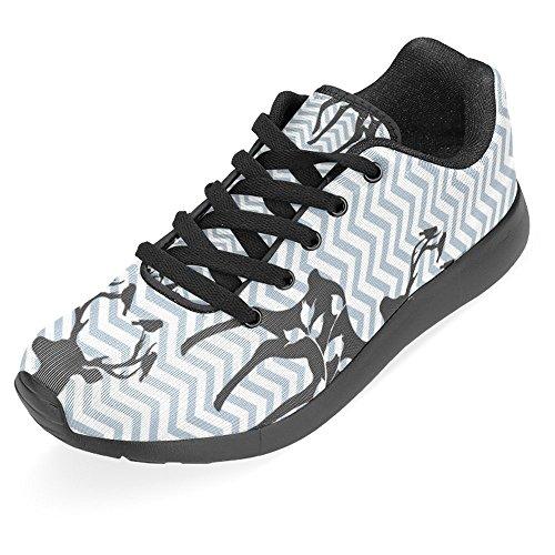 Interessante Donna Da Jogging Da Corsa Sneaker Leggero Andare Facile A Piedi Casual Sport Da Corsa Scarpe Da Corsa Multi 38