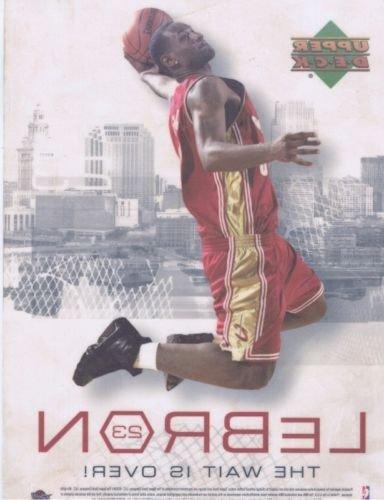 Lebron James 2003 Upper Deck Rookie Window Cling Cavaliers