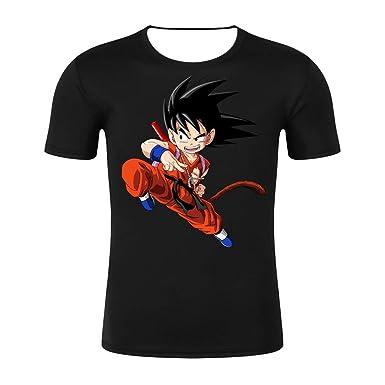 JXKEF Impresora De Camisetas 3D Anime Movie Dragon Ball Hombre De ...