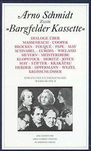 Download Bargfelder Ausgabe. Studienausgabe. Dialoge. Werkgruppe 2, 6 Bände. pdf