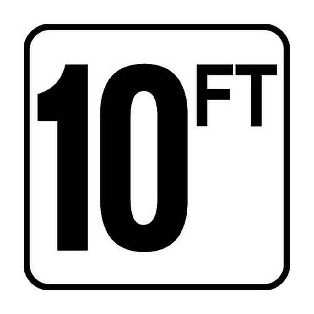 10 Ft. Inc Vinyl Swimming Pool Depth Marker Inlays