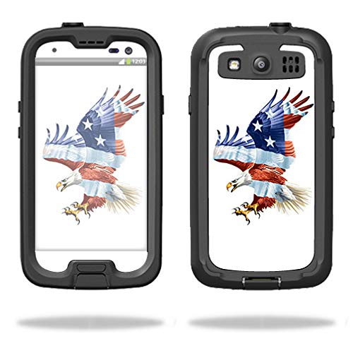 MightySkins Protective Vinyl Skin Decal for Lifeproof iPhone 7 Case fre Case wrap cover sticker skins Vintage Flag