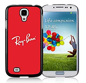 Lovely And Unique Designed Cover Case For Samsung Galaxy S4 I9500 i337 M919 i545 r970 l720 With Rayban 10 Black Phone Case