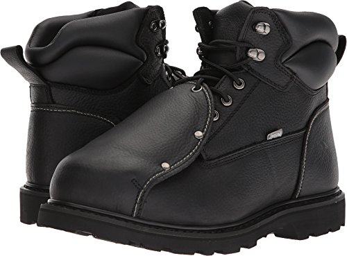 Safety Guard Boots Metatarsal (Iron Age Men's Ia5016 Ground Breaker Industrial Construction Shoe, Black, 11 M US)