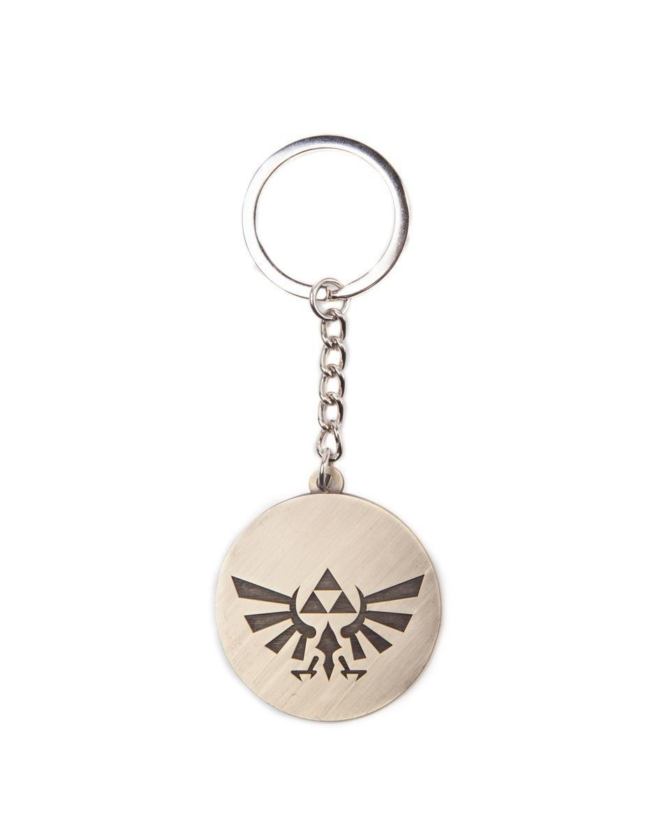The Legend of Zelda Llavero de Metal Logotipo Triforce ...
